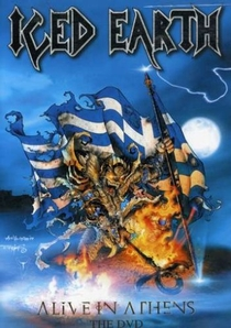Iced Earth: Alive in Athens - Poster / Capa / Cartaz - Oficial 1