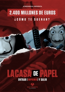 La Casa de Papel (Parte 1) - Poster / Capa / Cartaz - Oficial 3