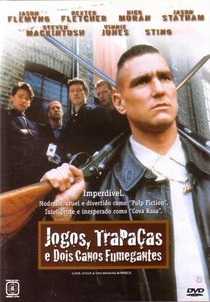 Jogos, Trapaças e Dois Canos Fumegantes - Poster / Capa / Cartaz - Oficial 2