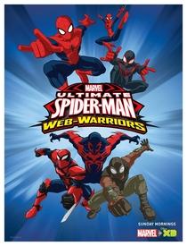 Ultimate Homem-Aranha (3ª Temporada) - Poster / Capa / Cartaz - Oficial 2