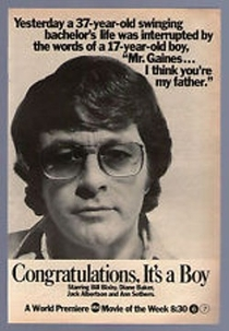 Congratulations, It's a Boy - Poster / Capa / Cartaz - Oficial 1