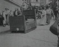 Le lit à roulettes - Poster / Capa / Cartaz - Oficial 1