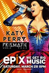 Katy Perry: The Prismatic World Tour - Poster / Capa / Cartaz - Oficial 2