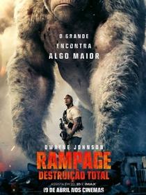 Rampage: Destruição Total - Poster / Capa / Cartaz - Oficial 7