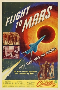 Voando para Marte - Poster / Capa / Cartaz - Oficial 1