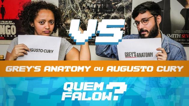 QUEM FALOW? | Grey's Anatomy X Augusto Cury