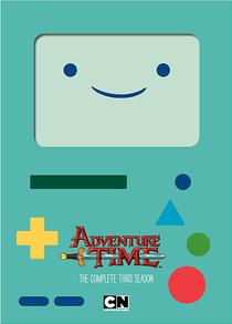 Hora de Aventura (3ª Temporada) - Poster / Capa / Cartaz - Oficial 1