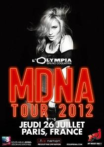 Madonna Live at Paris Olympia - Poster / Capa / Cartaz - Oficial 1