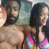 Rihanna e Donald Glover podem estar gravando filme em Cuba