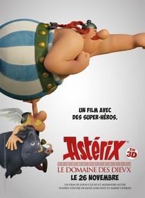 Asterix e o Domínio dos Deuses - Poster / Capa / Cartaz - Oficial 9