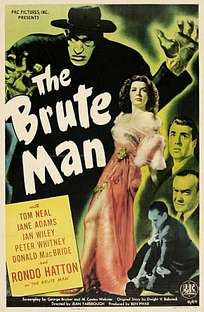 The Brute Man - Poster / Capa / Cartaz - Oficial 1