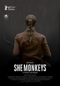 She Monkeys - Poster / Capa / Cartaz - Oficial 3