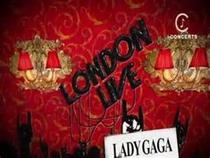Lady GaGa Special Live London  - Poster / Capa / Cartaz - Oficial 1