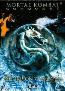 Mortal Kombat -  Scorpion vs Sub-Zero - Poster / Capa / Cartaz - Oficial 1