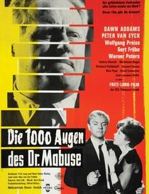 Os Mil Olhos do Dr. Mabuse - Poster / Capa / Cartaz - Oficial 1