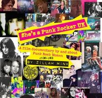 She's a Punk Rocker UK - Poster / Capa / Cartaz - Oficial 1