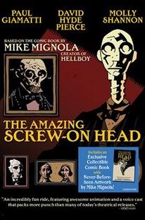 The Amazing Screw-On-Head - Poster / Capa / Cartaz - Oficial 1