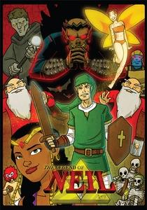 The Legend of Neil - 2ª Temporada  - Poster / Capa / Cartaz - Oficial 1