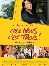 Chez Nous C'est Trois! - Poster / Capa / Cartaz - Oficial 1