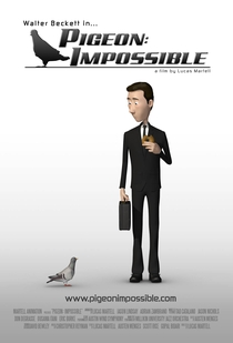Pigeon: Impossible - Poster / Capa / Cartaz - Oficial 1