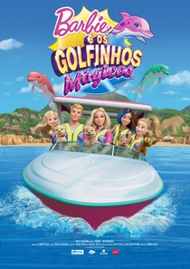 Barbie e os Golfinhos Mágicos - Poster / Capa / Cartaz - Oficial 2