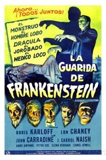 A Casa de Frankenstein - Poster / Capa / Cartaz - Oficial 7
