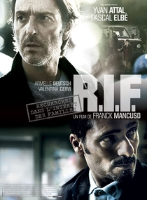 R.I.F. - Poster / Capa / Cartaz - Oficial 1