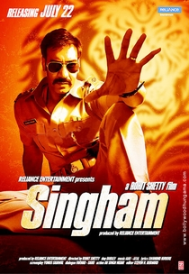 Singham - Poster / Capa / Cartaz - Oficial 1