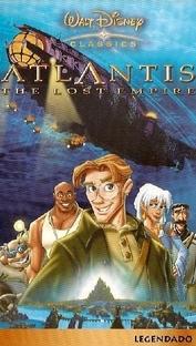 Atlantis - O Reino Perdido - Poster / Capa / Cartaz - Oficial 1