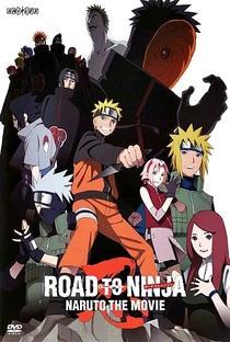 Naruto Shippuden 6: O Caminho Ninja - Poster / Capa / Cartaz - Oficial 1