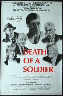 Death of a Soldier - Poster / Capa / Cartaz - Oficial 2