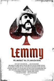 Lemmy - Poster / Capa / Cartaz - Oficial 1