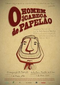 O homem da cabeça de papelão - Poster / Capa / Cartaz - Oficial 1