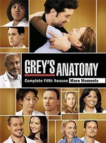 Grey's Anatomy (5ª Temporada) - Poster / Capa / Cartaz - Oficial 2