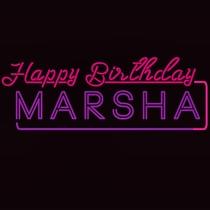 Happy Birthday, Marsha! - Poster / Capa / Cartaz - Oficial 2
