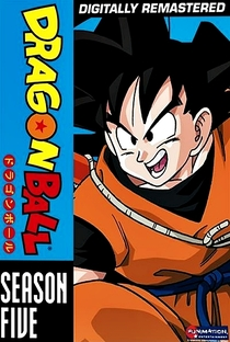 Dragon Ball (5ª Temporada) - Poster / Capa / Cartaz - Oficial 2