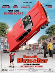 Benoît Brisefer: Les taxis rouges - Poster / Capa / Cartaz - Oficial 1