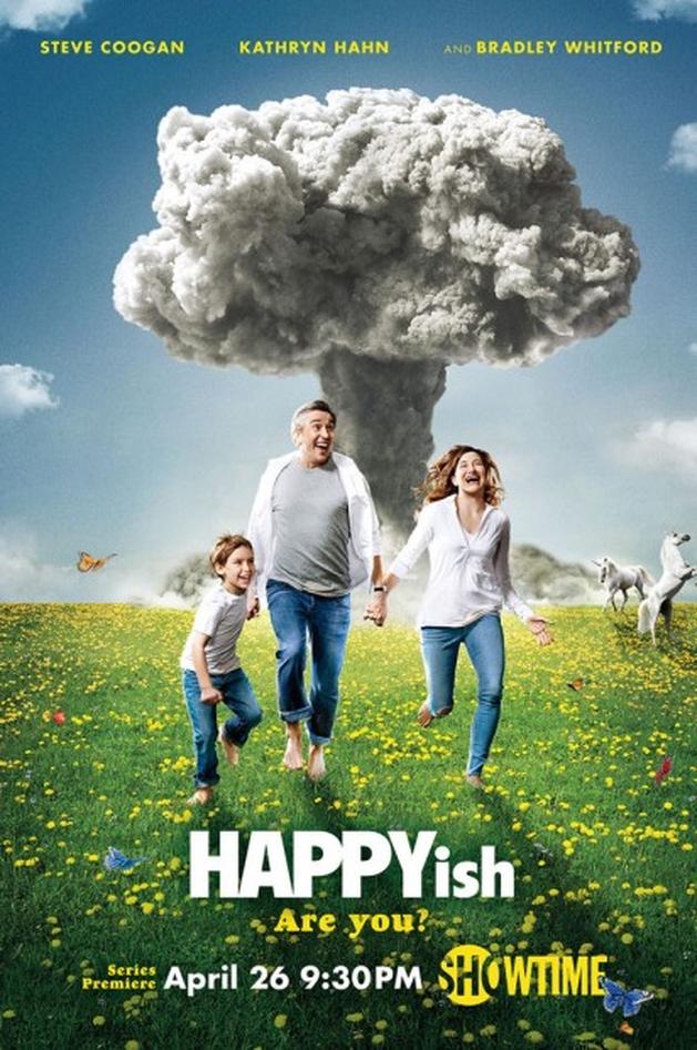 Cartaz e novo trailer de 'HAPPYish', série do Showtime | Temporadas - VEJA.com