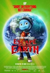 A Fuga do Planeta Terra - Poster / Capa / Cartaz - Oficial 6