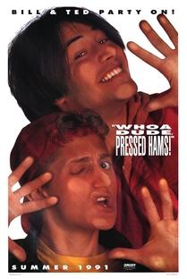 Bill & Ted - Dois Loucos no Tempo - Poster / Capa / Cartaz - Oficial 2