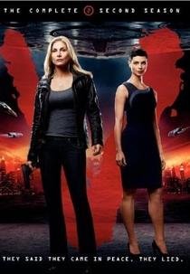 V – Visitors (2ª Temporada) - Poster / Capa / Cartaz - Oficial 1