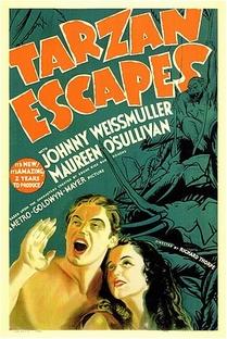 A Fuga de Tarzan - Poster / Capa / Cartaz - Oficial 1