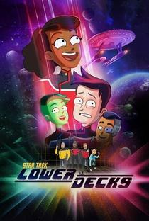 Star Trek: Lower Decks (1ª Temporada) - Poster / Capa / Cartaz - Oficial 3