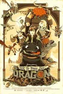 Como Treinar o seu Dragão - Poster / Capa / Cartaz - Oficial 2