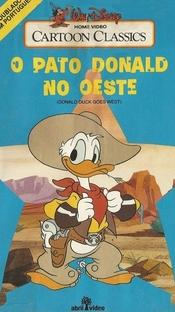 O Pato Donald no Oeste - Poster / Capa / Cartaz - Oficial 1