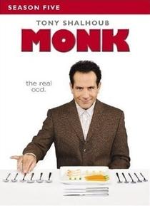 Monk: Um Detetive Diferente (5ª Temporada) - Poster / Capa / Cartaz - Oficial 1