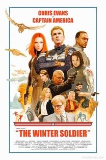 Capitão América 2: O Soldado Invernal - Poster / Capa / Cartaz - Oficial 13