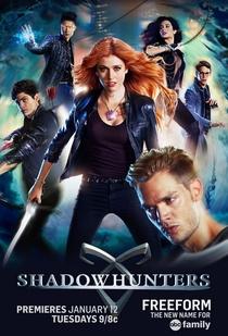 Shadowhunters - Caçadores de Sombras (1ª Temporada) - Poster / Capa / Cartaz - Oficial 2