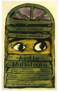 Azyllo Muito Louco - Poster / Capa / Cartaz - Oficial 1