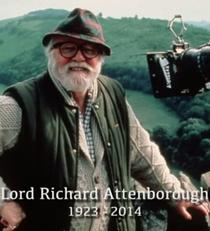 Richard Attenborough: A Life in Film - Poster / Capa / Cartaz - Oficial 1